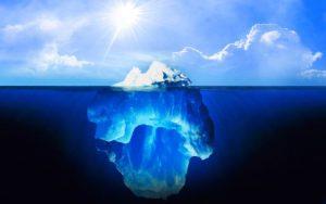 partie cachée iceberg - conseil éducation canine